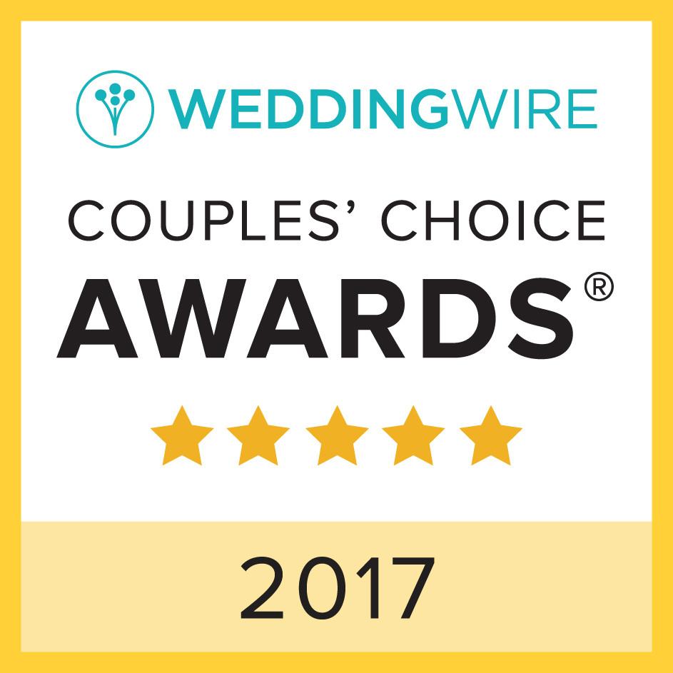 WeddingWire Couples' Choice Awards 2017 Jasmine Norris Photography