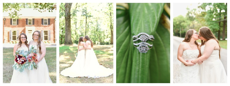 Blanton House Danville Indiana Wedding: Ashley & Samanthia