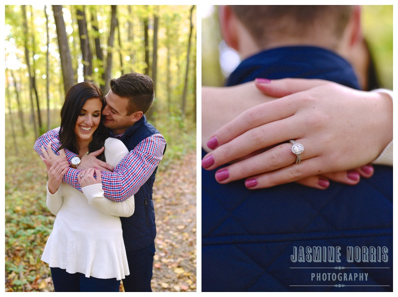 Butler University Holcomb Gardens Indianapolis Indiana Engagement Photographer Photography