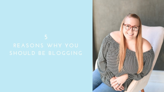 5 Reasons Why You Should Be Blogging For Photographers