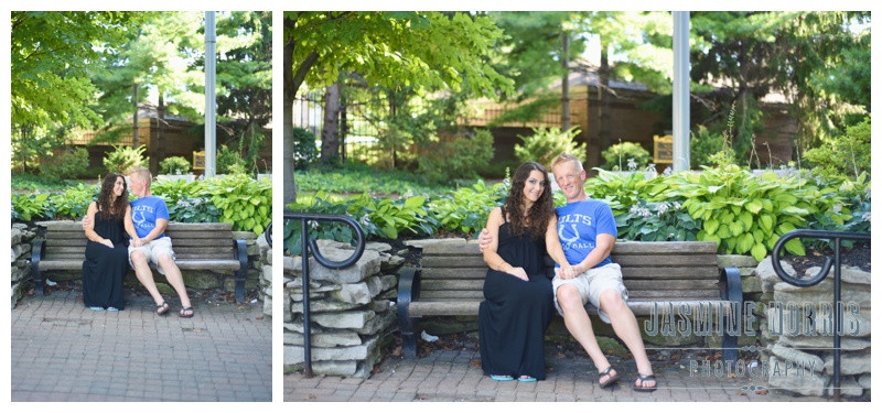 Indianapolis Canal Walk Engagement Photographer Photography