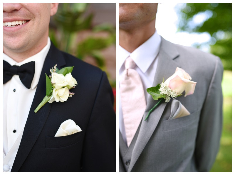 Boutonniere Inspiration Indiana Wedding Photographer Photography Lafayette Indianapolis