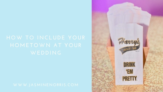 How To Include Your Hometown At Your Wedding Indiana Wedding Photographer