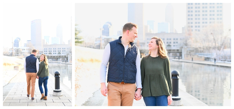 Indianapolis Engagement White River State Park Photographer Photography