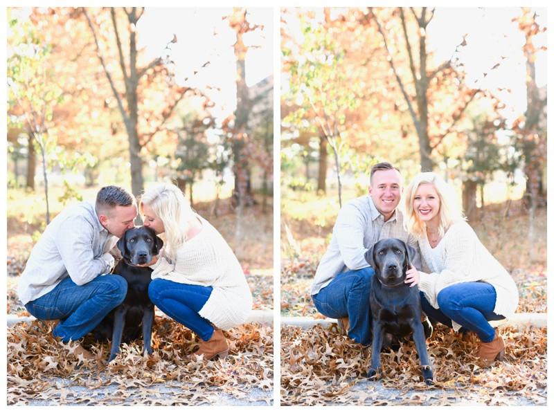 Carmel Indiana Engagement with Dog Photographer Photography