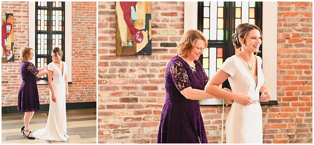 Attica Indiana Wedding The Sanctuary Photographer Photography