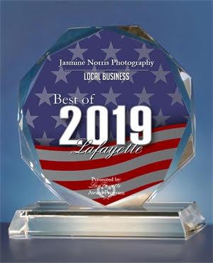 Press Release: Jasmine Norris Photography Receives 2019 Best of Lafayette Award