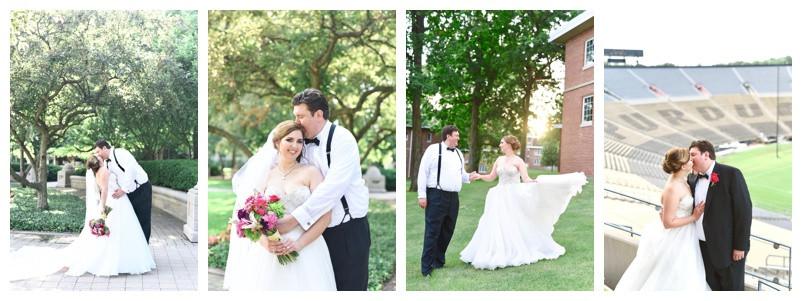 Ross Ade Stadium and Trinity United Methodist Lafayette Indiana Wedding: Jacki & Jim