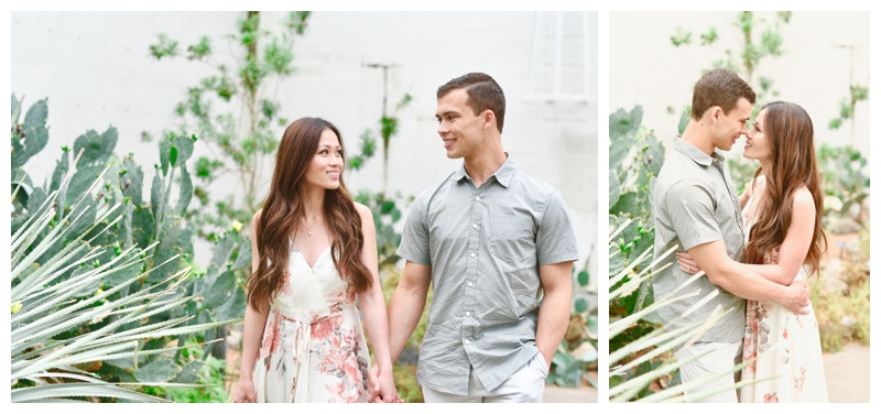 PUBLISHED- Contemporary Weddings Magazine: Midwest Botanical Gardens Engagement with Desert