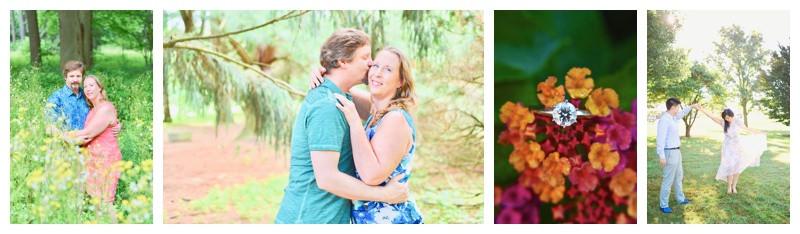 Purdue Horticultural Park Engagement Photographer Photography