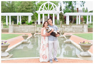 Fort Wayne Indiana Engagement Photograph
