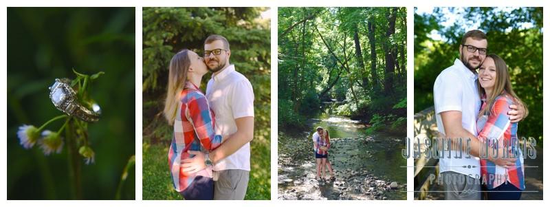 Cool Creek Park Indianapolis Indiana Engagement: Jessica & Brandon