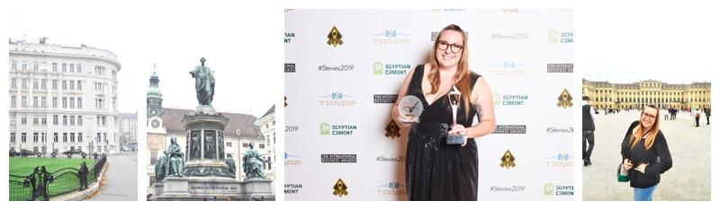 Vienna Austria and The Stevie Awards: Travel & Awards