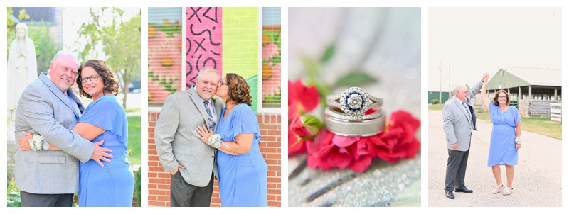 St Augustine and eMbers Venue Rensselaer Indiana Wedding: Janet & Rodney