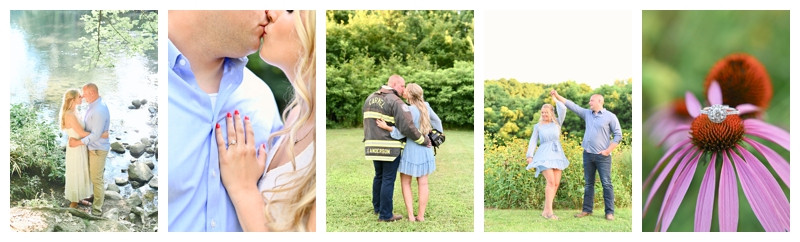 Mounds State Park Anderson, Indiana Engagement: Kenzie & Kent