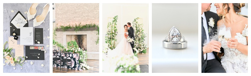 Carmel Indiana Iron and Ember Wedding Inspiration