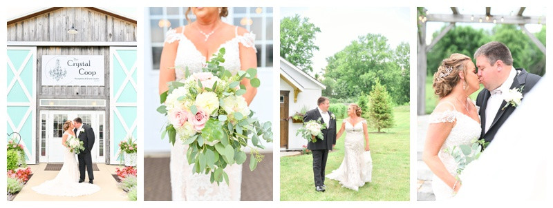 Crystal Coop Anderson Indiana Wedding: Jessica & Chad