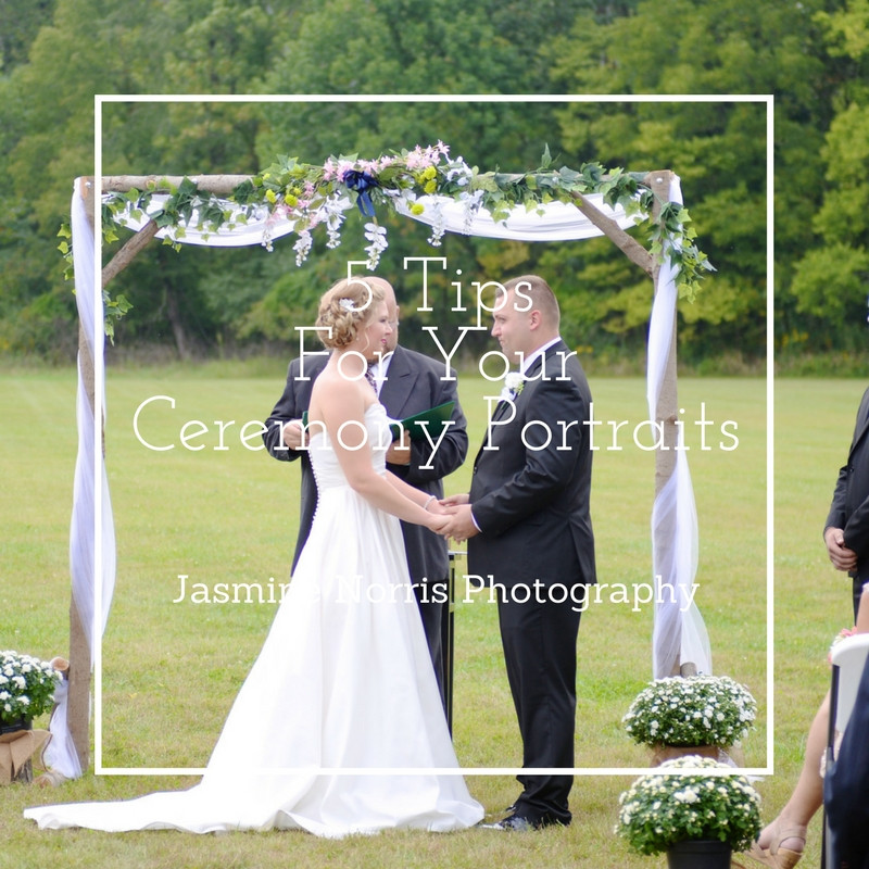 Indiana Wedding Photographer 5 Tips For Your Ceremony Portraits