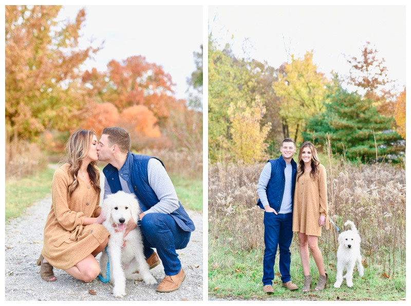 Carmel Indiana West Park Anniversary Photographer Photography Engagement Lafayette Indianapolis