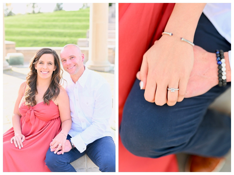 Carmel Indiana Engagement Coxhall Gardens Photographer Photography