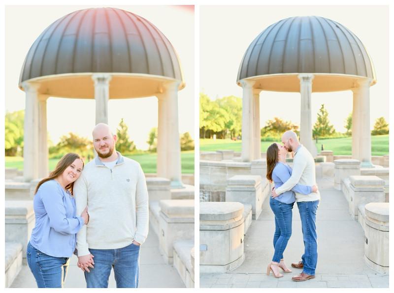 Carmel Indiana Coxhall Gardens Engagement Photographer Photography