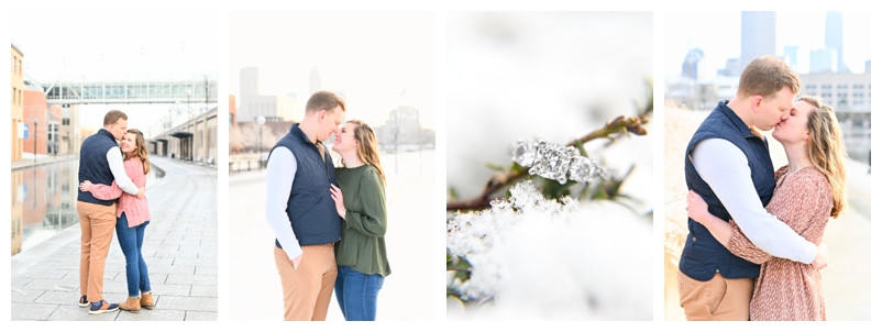 Indianapolis White River State Park Engagement: Audrey & Kevin