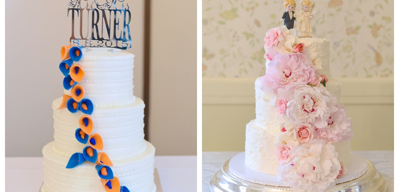 Wedding Cake Inspiration- Wedding Wednesday