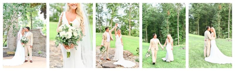 Flora Illinois Ranch Wedding: Kylie & Adam