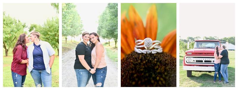 Wea Creek Orchard Lafayette Indiana Engagement: Cassidy & Hanna