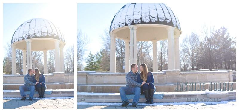Coxhall Gardens Indianapolis Indiana Engagement Photographer Photography
