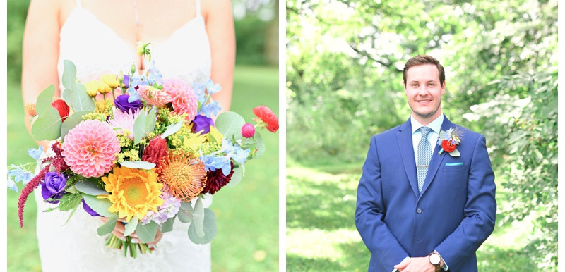 Bouquet and Boutonnière Inspiration 2020: Wedding Wednesday