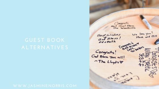 Guest Book Alternatives: Wedding Wednesday