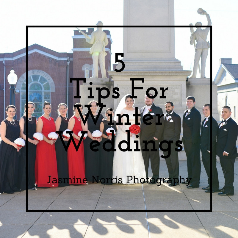 Tips for Winter Weddings Indiana Wedding Photographer Photography