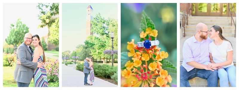 Purdue University West Lafayette Indiana Engagement: Jackie & Peter