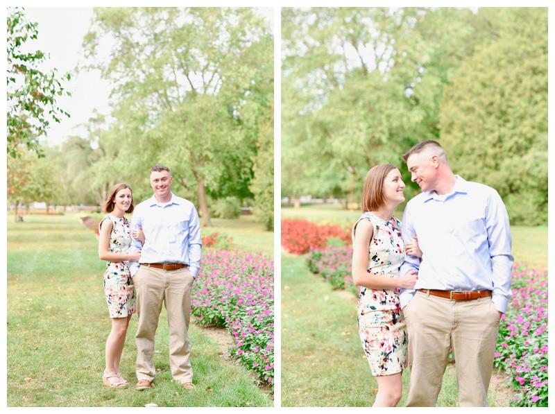 Holcomb Gardens Engagement Indianapolis Indiana Photographer Photography