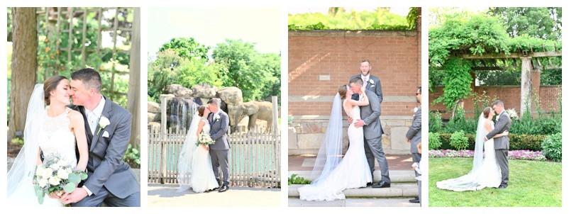 Indianapolis Zoo Indiana Wedding: Molly and Joe