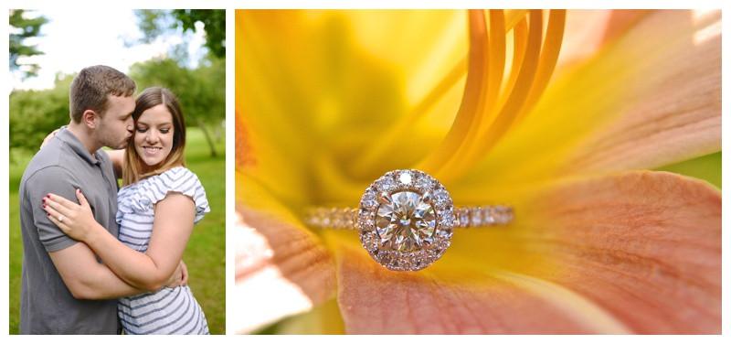 Holcomb Gardens Butler University Engagement Photography Photographer Indianapolis Indiana