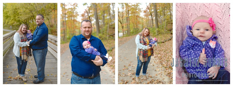 Happy Hollow West Lafayette Indiana Family Session: Kelch Family