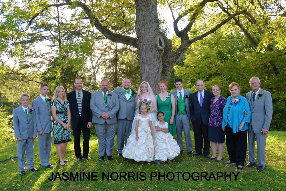 Family Formals Monticello, Indiana Wedding Photographer Photography