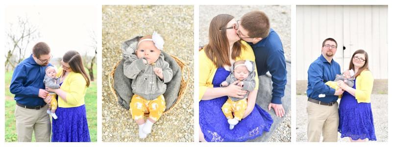 Wea Creek Orchard Lafayette Indiana Family Photography: The Dowells