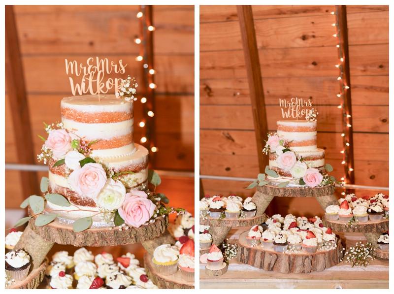 Rustic Wedding Cake Inspiration South Bend Indiana Wedding Photographer