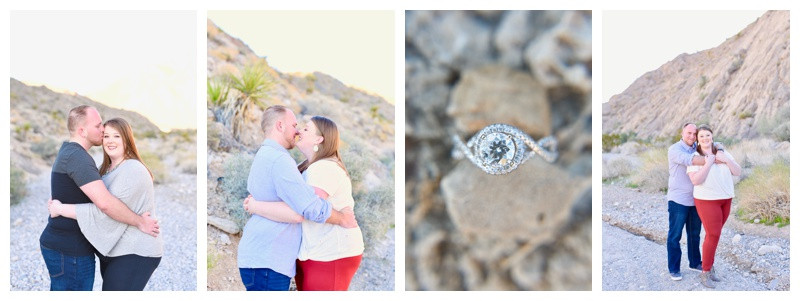 Las Vegas Nevada Engagement: Katie & Collin