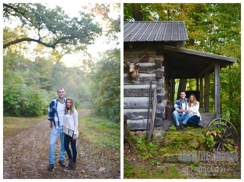Attica Indiana Sunrise Engagement Photographer Photography