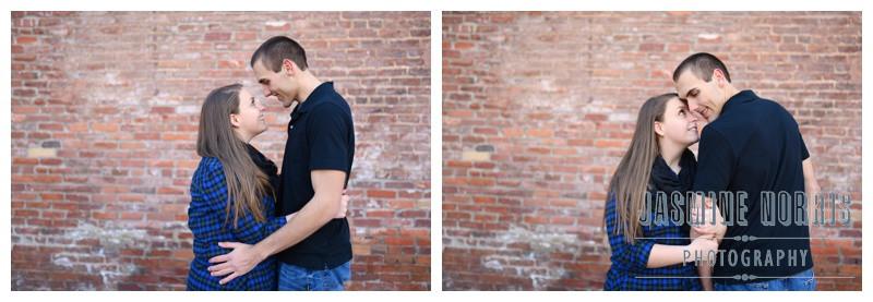Indianapolis Mass Ave Engagement Photographer Photography