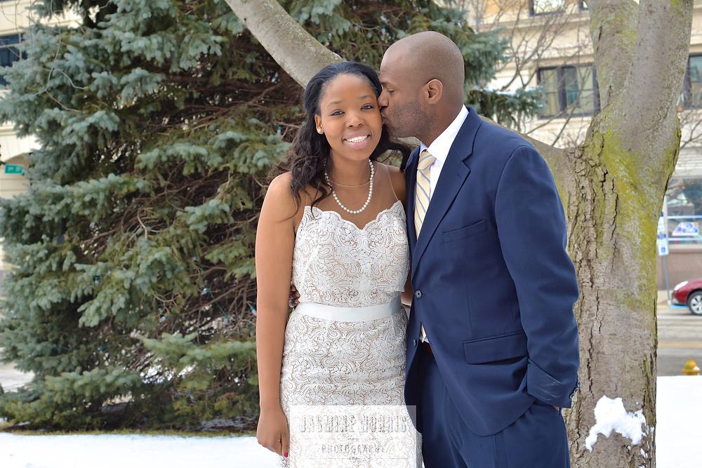 Lafayette Indiana Courthouse Wedding