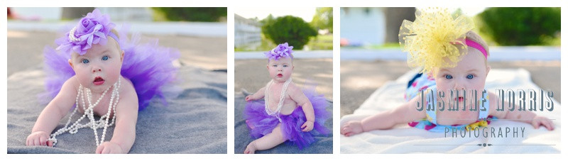 Lafayette Indiana Columbian Park 6 Month Session: Bailey