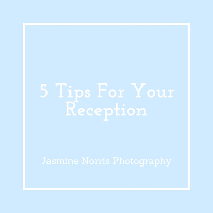 5 Tips For Your Reception Indiana Destination Wedding Photographer