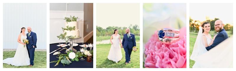 Gathering Acres Lafayette Indiana and St John's Illinois Wedding: Jackie & Peter
