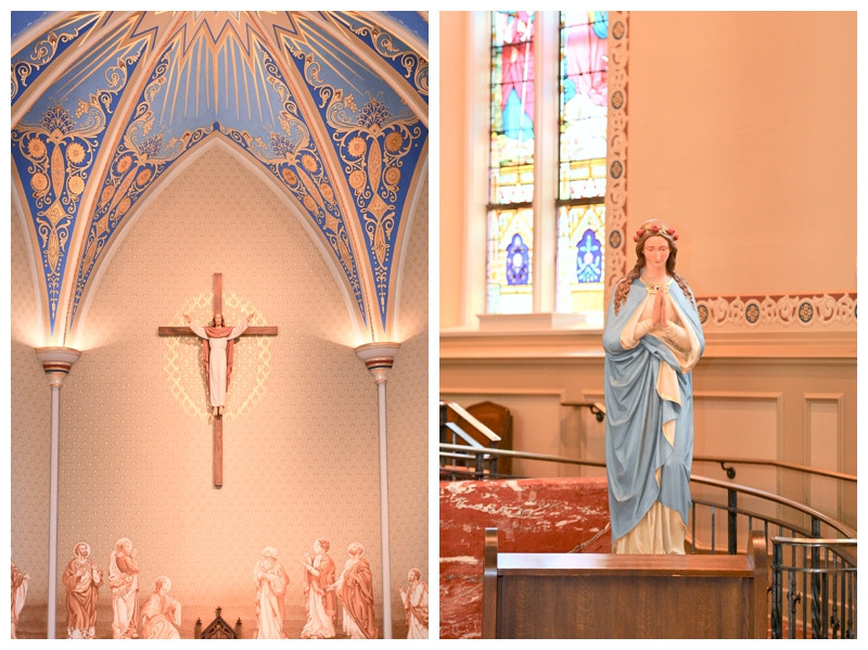 Lafayette Indiana Wedding Fowler House St Marys Cathedral Photographer Photography
