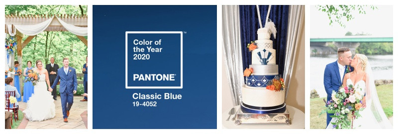 Including Pantone Color of the Year 2020 Classic Blue Into Your Wedding